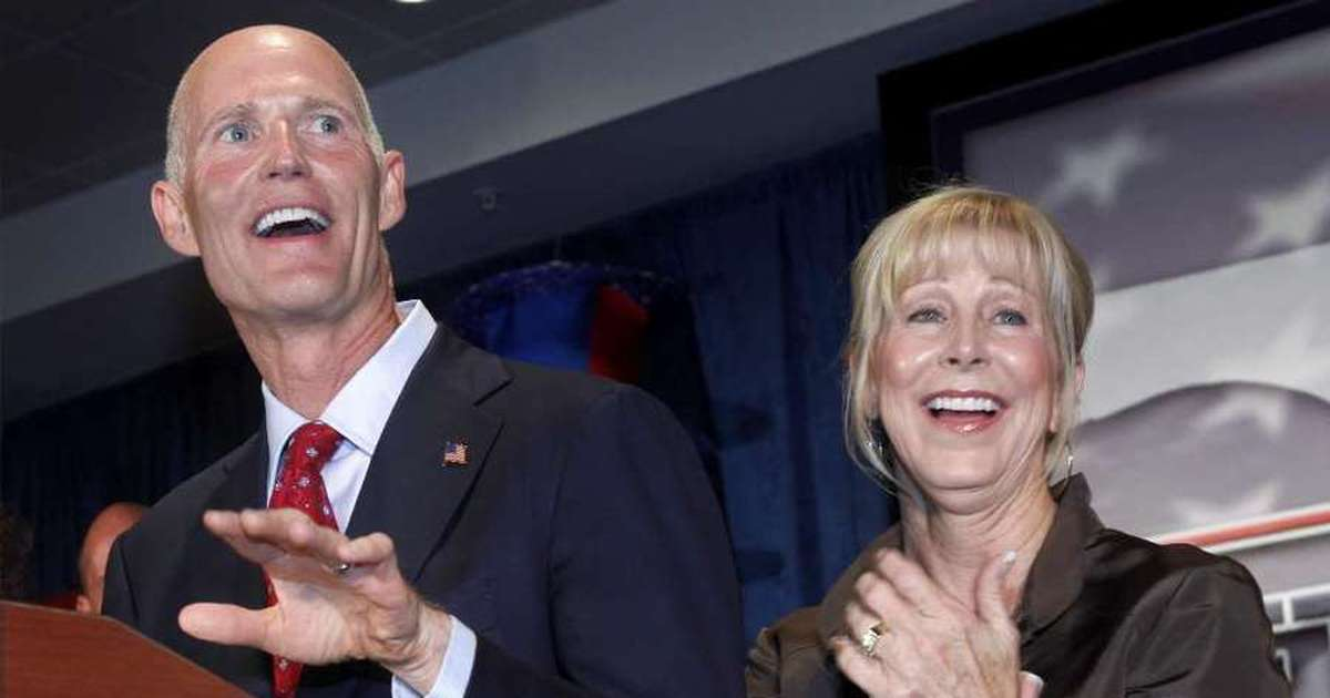 Rick and Ann Scott had stake in shipping giant linked to Kremlin