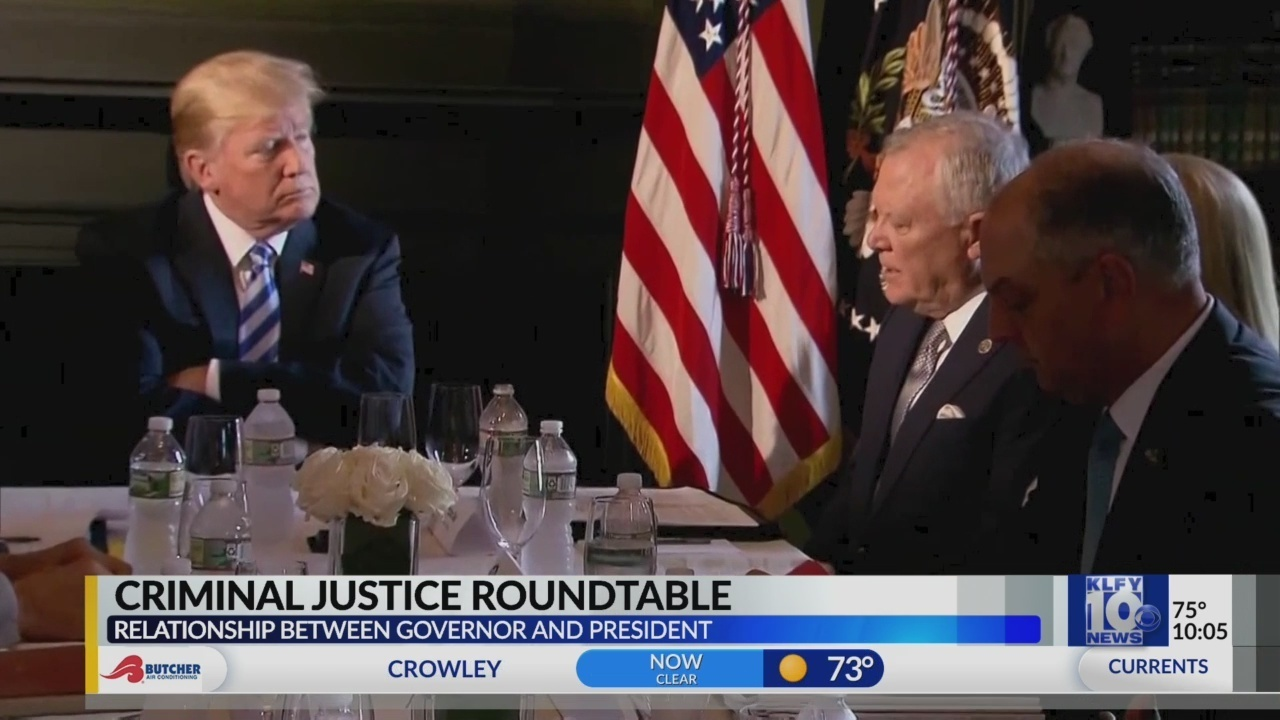 Gov. Edwards sees no need for Trump-trashing