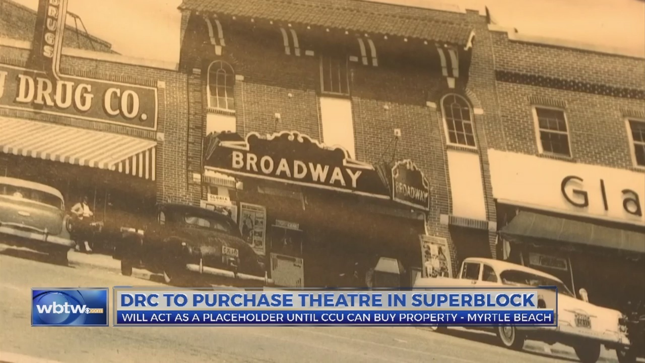 CCU working to purchase historical theatre in downtown Myrtle Beach to use for students