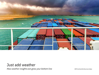 How Weather Insights Can Grow Your Bottom Line