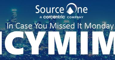 ICYMIM: July 30, 2018 – The Strategic Sourceror