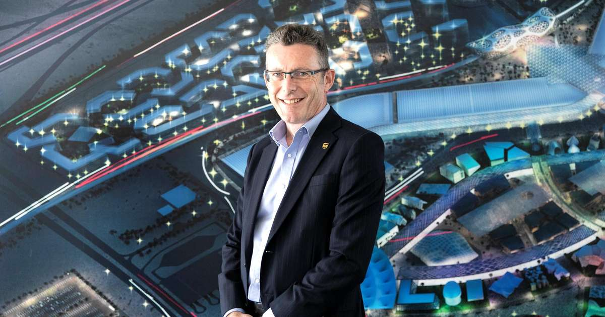 Logistics expert handling Dubai Expo 2020 plans forthe unexpected