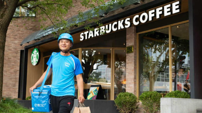 Starbuck's and Alibaba form partnership, will pilot delivery services in China | Distribution