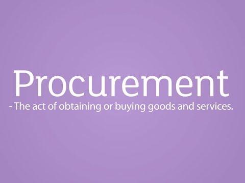 Procurement: Job Profile