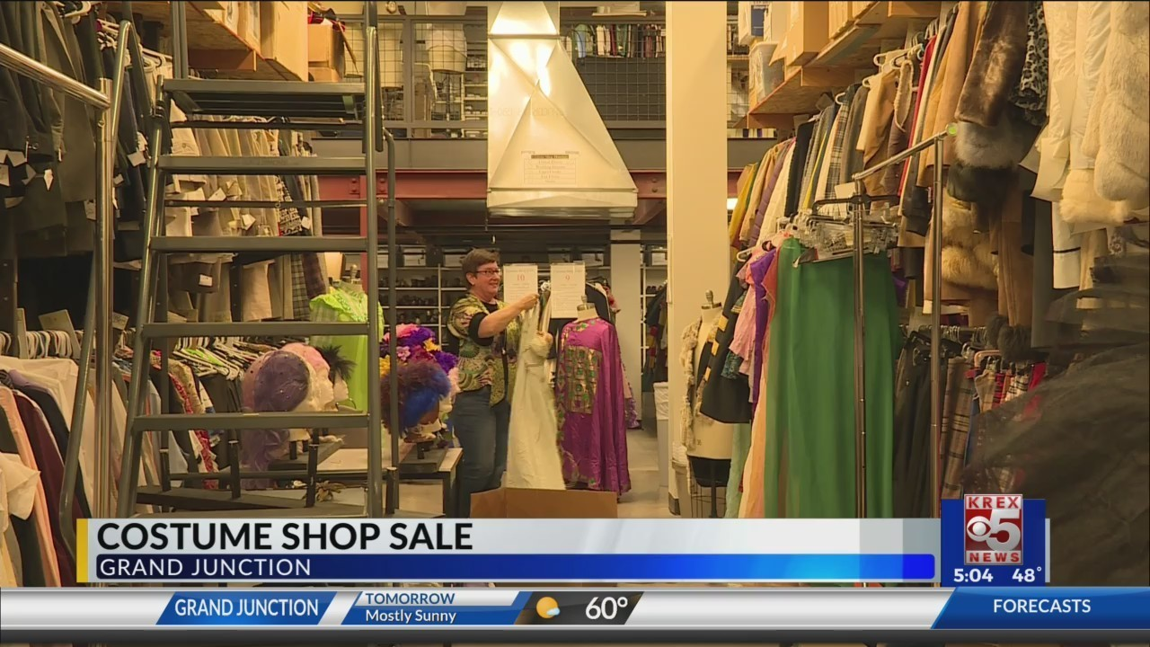 Costume Shop Treats Community With Halloween Inspired Inventory Sale