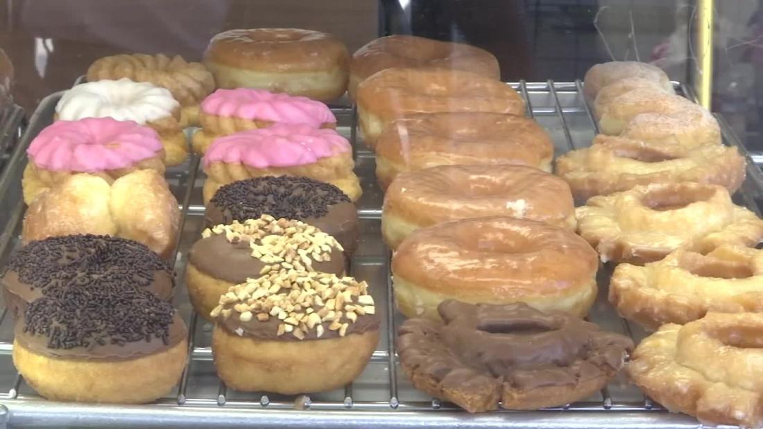 Customers rush each morning to buy out doughnut shop's inventory so owner can spend time with sick wife.