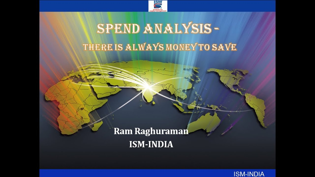 Webinar on Spend Analysis – There's always money to save!