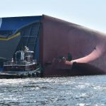 Rescuers make contact with missing crew aboard capsized ship
