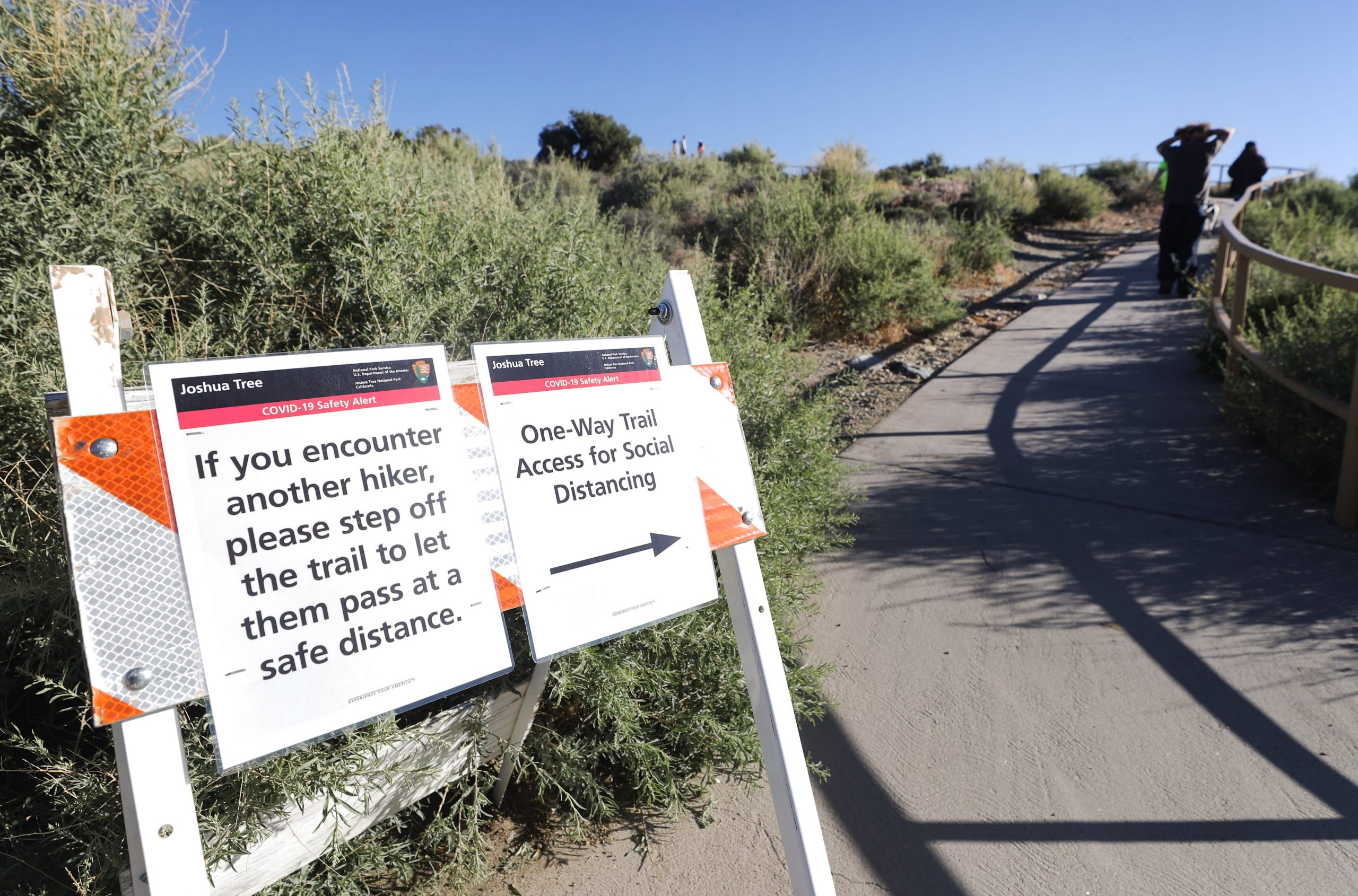 National parks may be next vacation spots