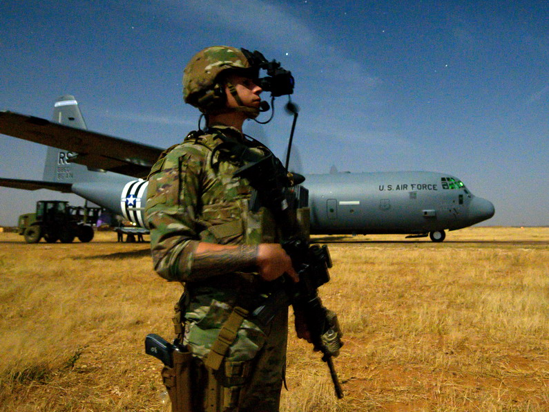 US Africa Command discusses logistics challenges in Africa
