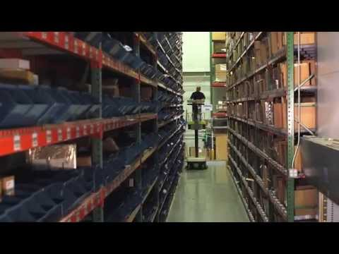 Zebra Warehouse – Optimization of Processes and Space