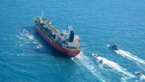 Crew still on board seized ship despite Iran release pledge: Seoul
