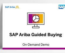 The SAP Ariba Guided Buying Demo