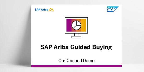 The SAP Ariba Guided Buying Demo